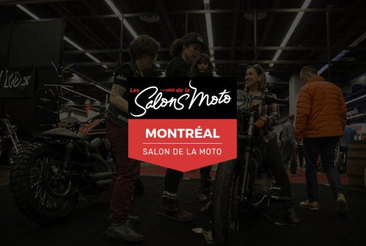 Salon de la moto de Montréal : découvrez les nouveautés 2019!