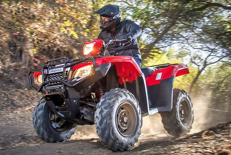 VTT Honda TRX 500 Rubicon DCT IRS EPS: ready for adventure