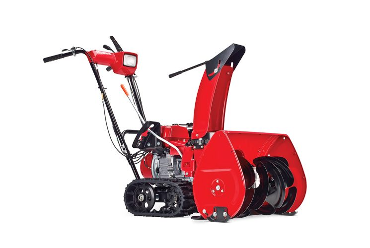 Snowblower Honda HSS 622 CT1: clear you driveway quickly!