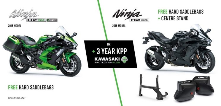 H2 SX Accessories Offer Purchase a select new Ninja H2 SX SE