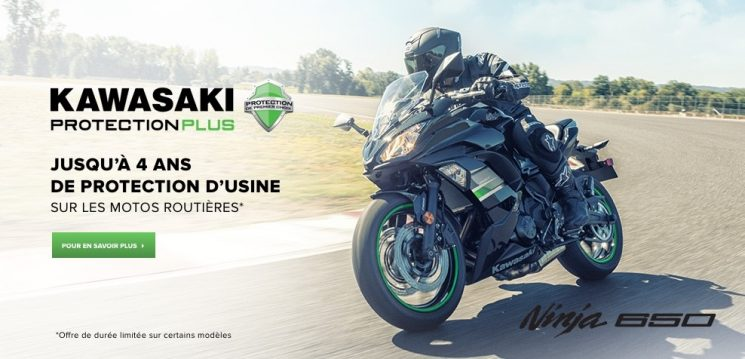Plan de 1 an de Kawasaki Protection Plus.