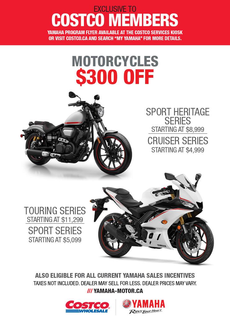 Yamaha Motorcycles Discount