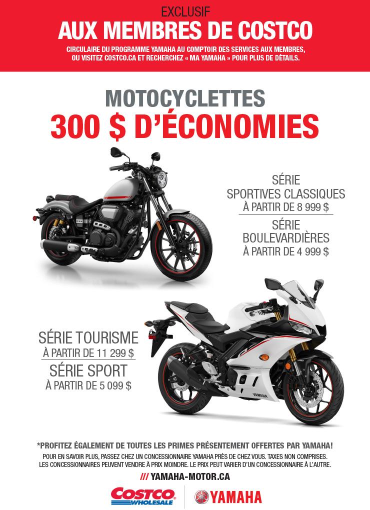 Promotion Motocyclettes Yamaha
