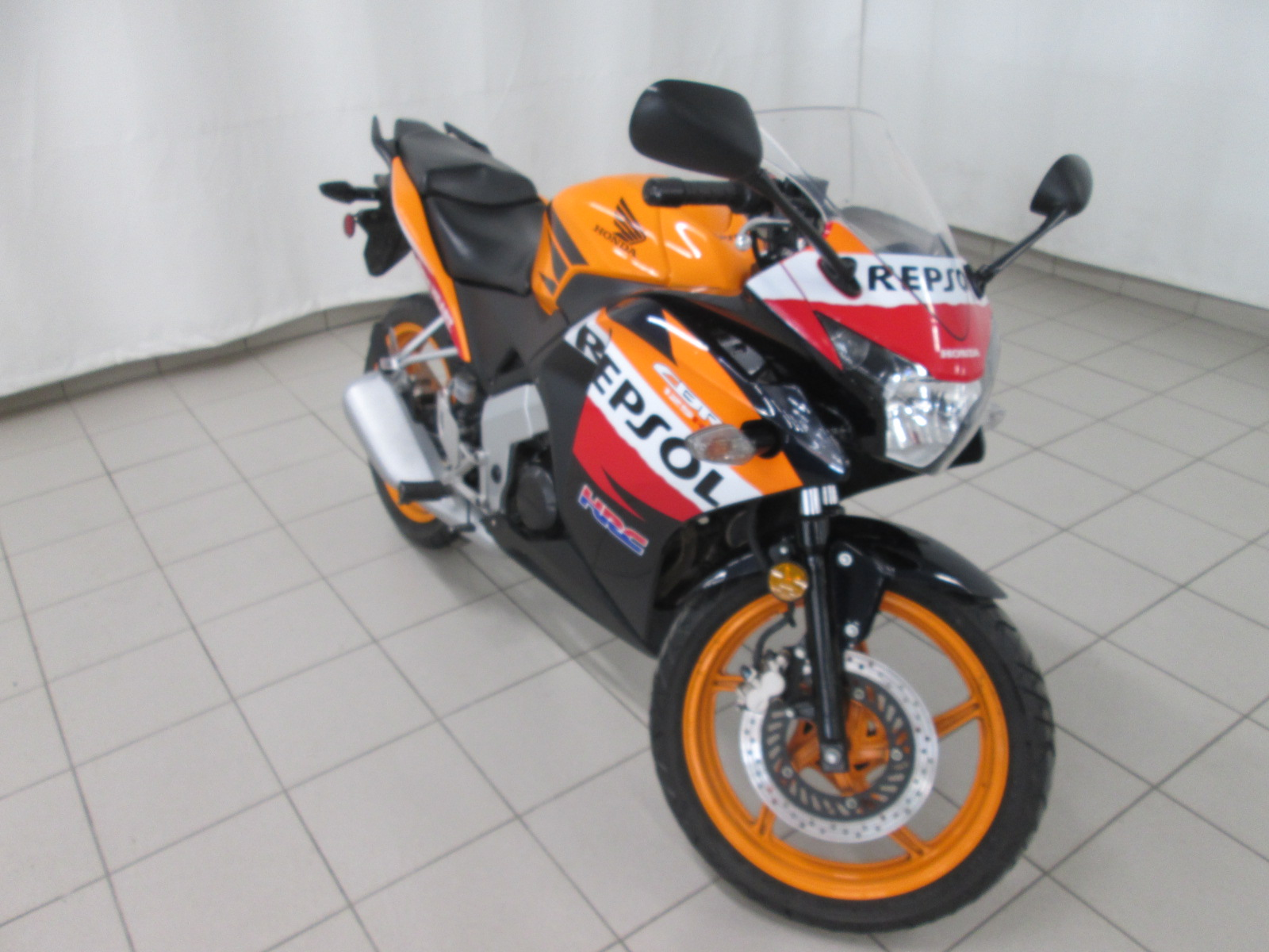 2012 HONDA CBR125R REPSOL ORANGE