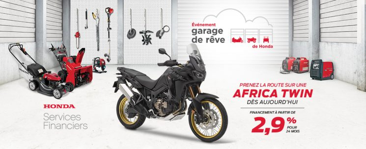 Événement Garage de Rêve – Africa Twin