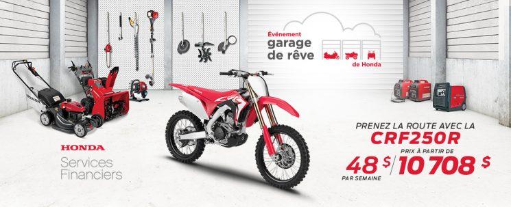 Événement Garage de Rêve – CRF250R