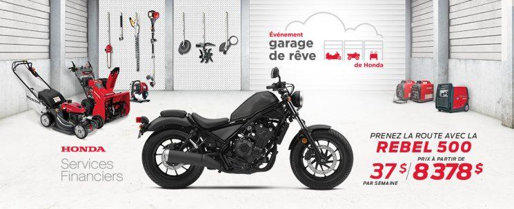 Événement Garage de Rêve – REBEL 500