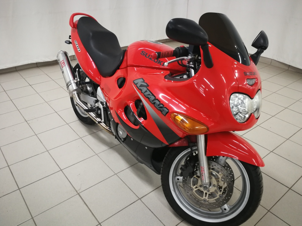 2000 SUZUKI KATANA GSX600
