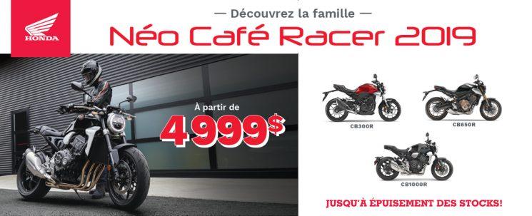 Honda Néo Café Racer 2019 – Promotion Juin 2019
