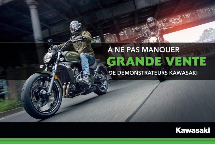 Grande Vente de démonstrateurs Kawasaki