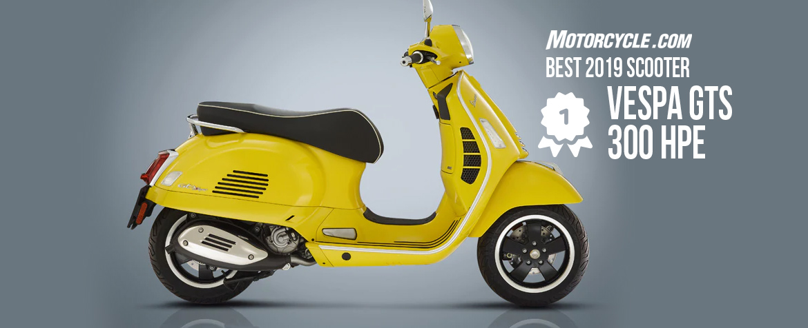 Best 2019 Scooter – Vespa GTS 300 HPE