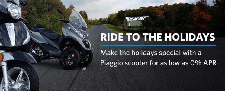 Ride to the Holidays – Piaggio