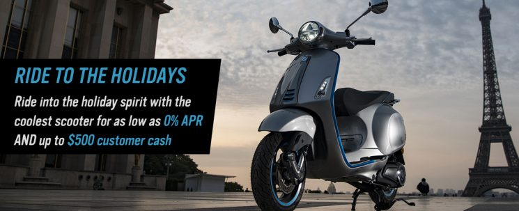 Ride to the Holidays – Vespa