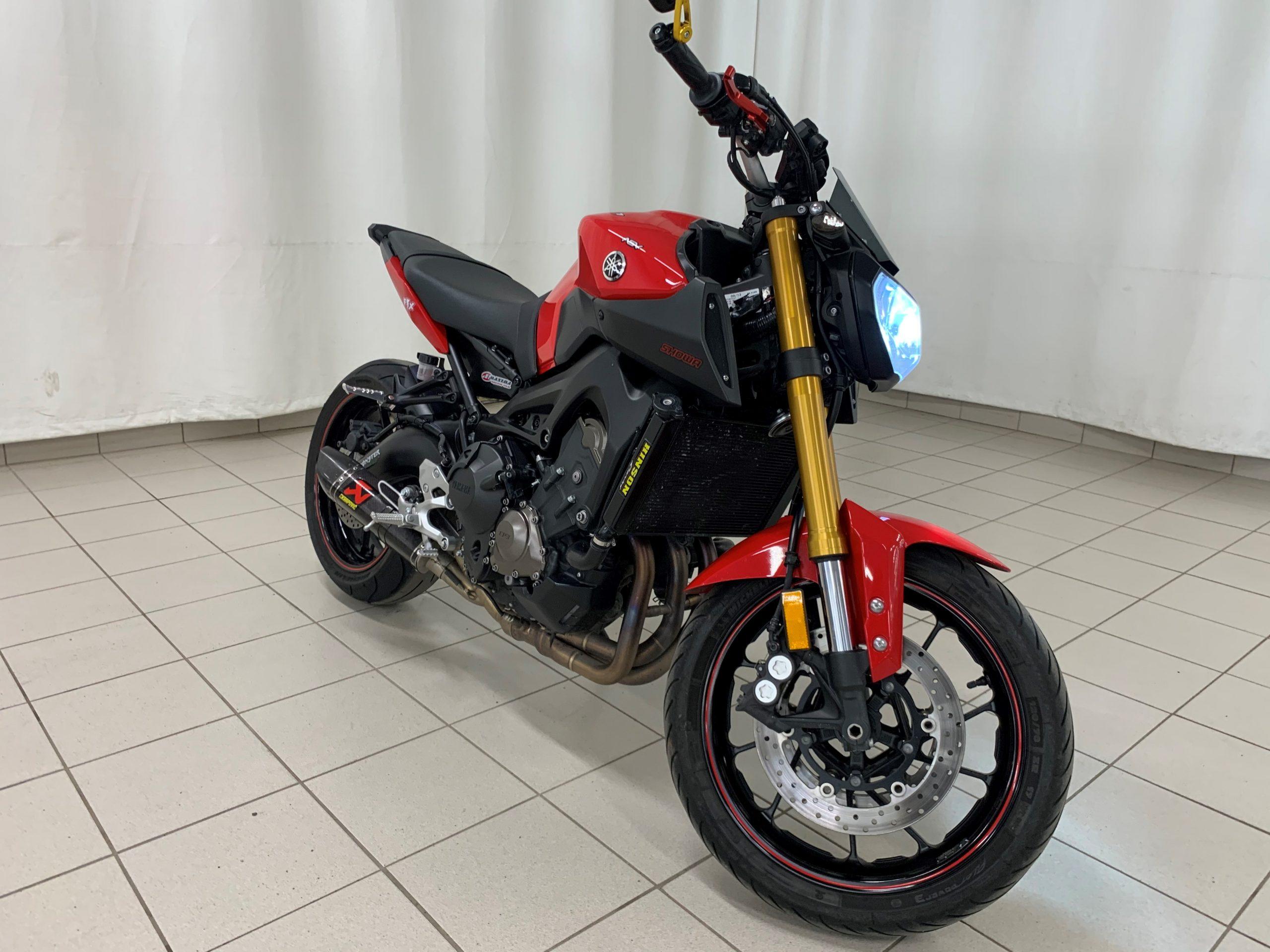 2014 Yamaha Fz-09 Rouge