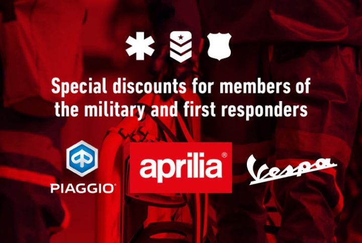 Special discounts for members of the military and first responders