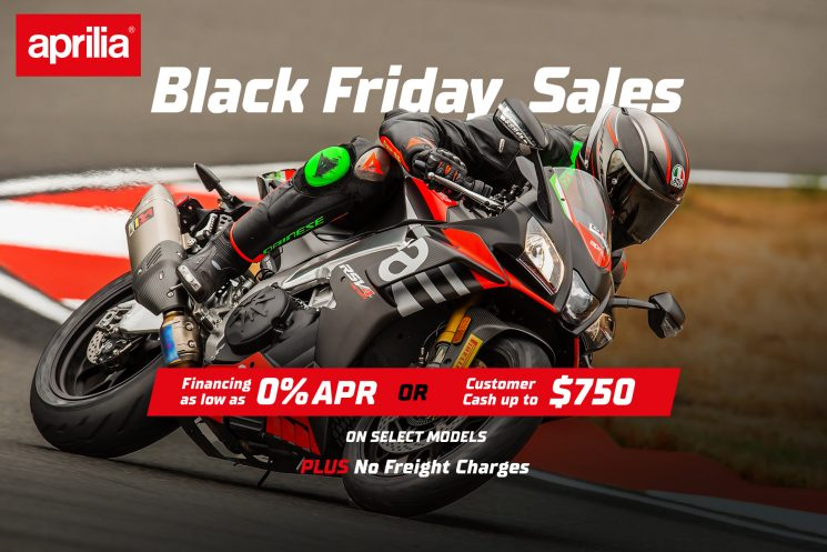 Promotion Aprilia – Black Friday 2020
