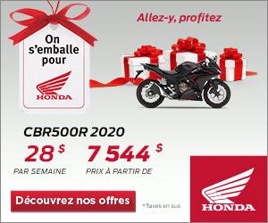 Honda – CBR500R 2020