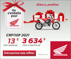 Honda – CRF110F 2021