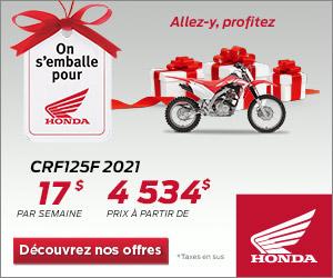 Honda – CRF125F 2021