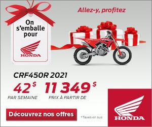 Honda – CRF450R 2021