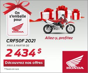 Honda – CRF50F 2021