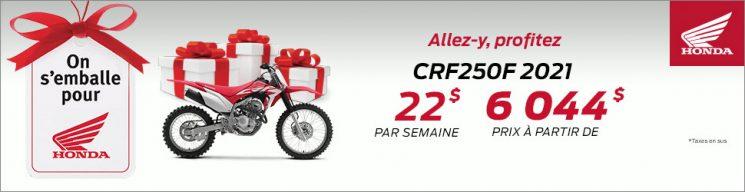 Honda – CRF250F 2021