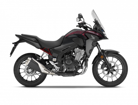 2021 Honda CB500X Matte Gunpowder Black Metallic