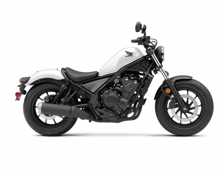 2021 Honda REBEL 500 Matte Pearl Summit White