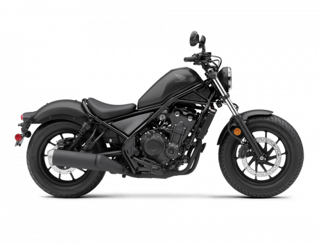 2021 Honda REBEL 500 Matte Axis Gray Metallic