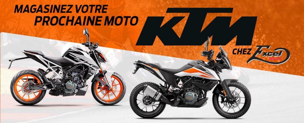 Achetez votre KTM chez Excel Moto