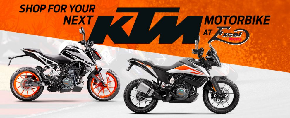 Buy your new KTM at Excel Moto