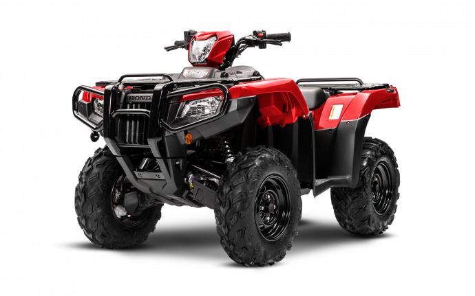 Rubicon 520 DCT IRS EPS Rouge patriote 2021