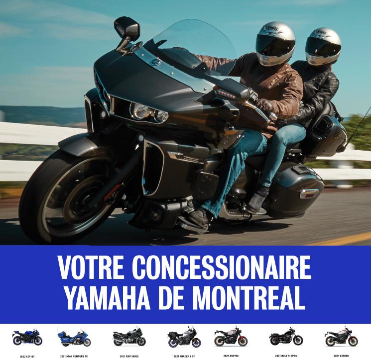 Votre concessionnaire Yamaha de Montréal
